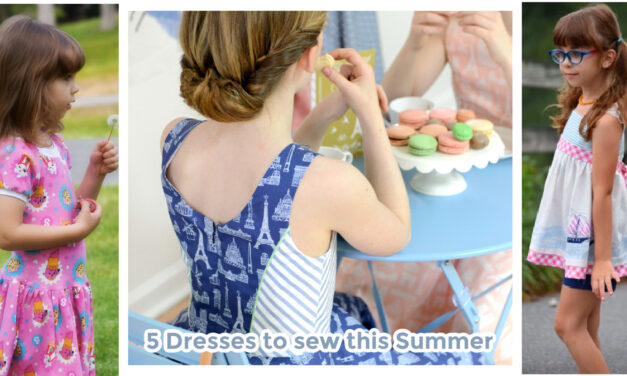 5 Dresses to Sew This Summer