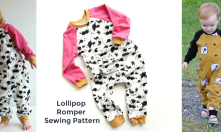 The Lollipop – New Easy Baby Romper PDF Pattern