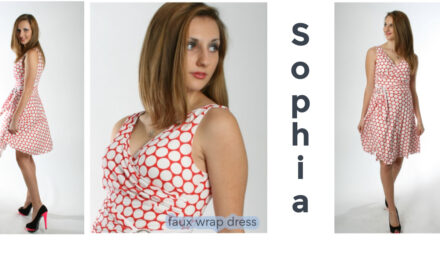 Sophia Wrap Dress Sewing Pattern