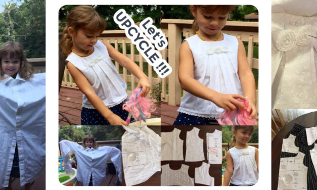 How to Upcycle Old Clothes | Denim | Shirt |