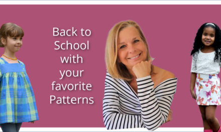 Back to School Sewing Pattern – The Virginia!