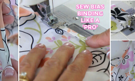 How to Apply Couture Bias Binding
