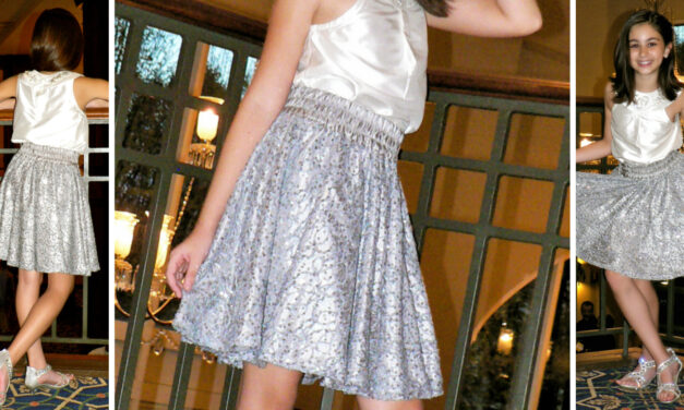 How to draft a Circle Skirt