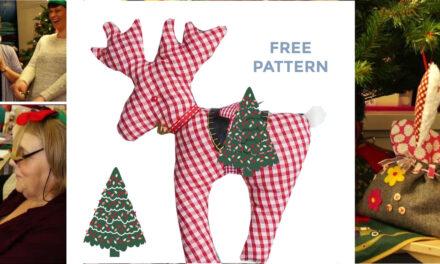 Handmade Christmas: Free Reindeer Sewing Pattern