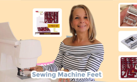 Free Sewing Machine Feet Tutorial with Madam Sew