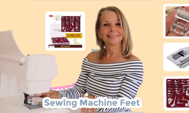 Free Sewing Machine Feet Tutorial with Madam Sew