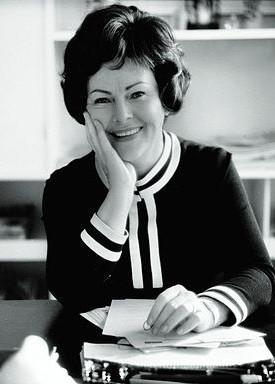 Anne Burda Portrait