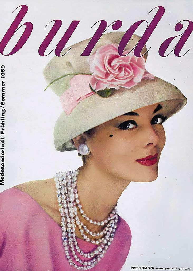 Anne Burda old magazine cover