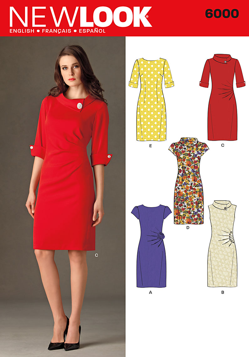 New Look 6000 sewing pattern