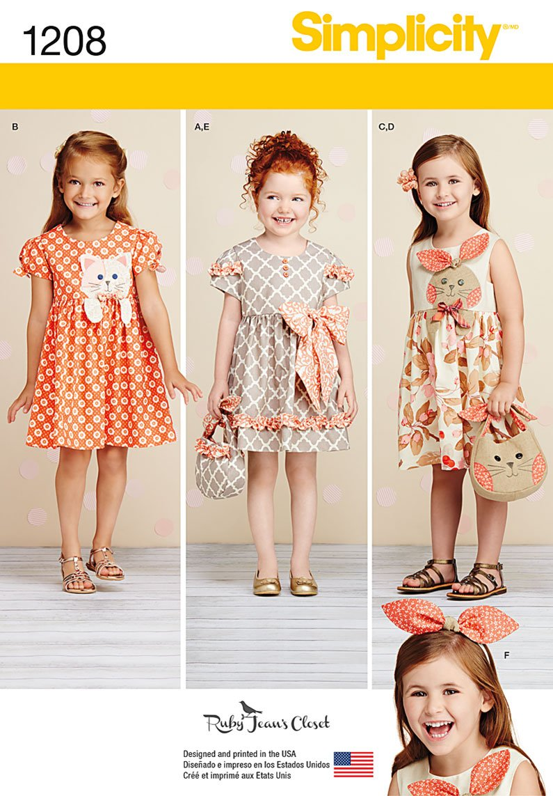 Simplicity 1208 sewing pattern