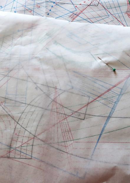 tracing a burda Style Pattern