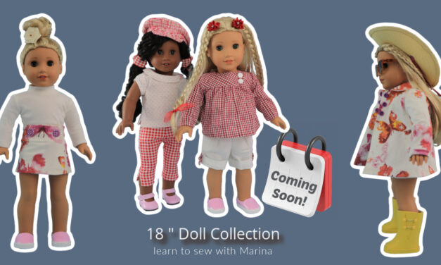 18 inch doll patterns – new at frocks & Frolics