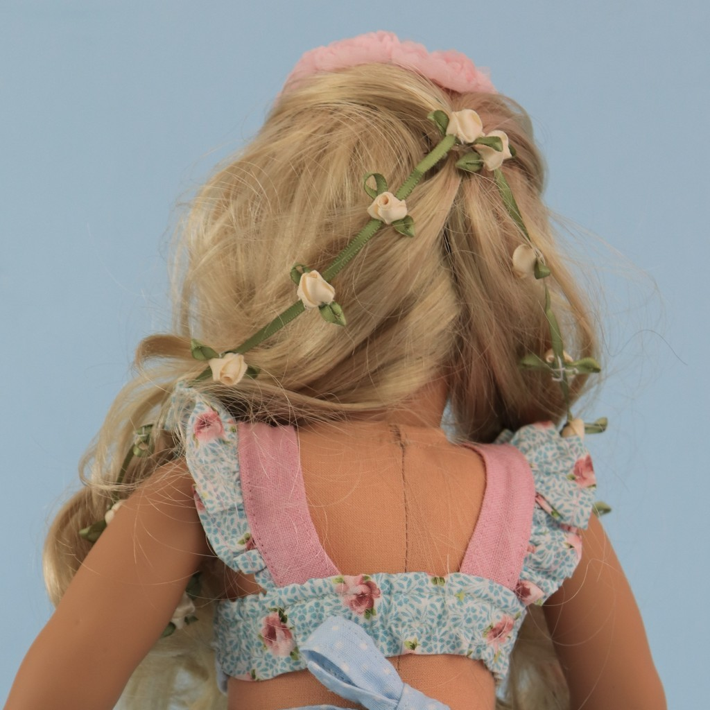 doll hair, hair style, american doll, american girl, 18 inch