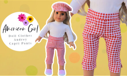 18 Inch doll bundle – bolero jacket and capri pants
