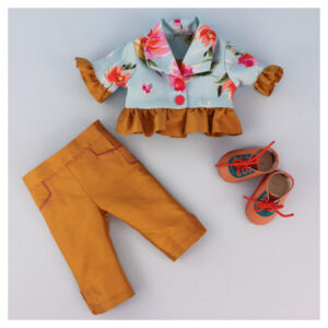 Bolero Jacket Doll, doll clothes, sewing pattern, Frocksandfrolics, beginner, American girl