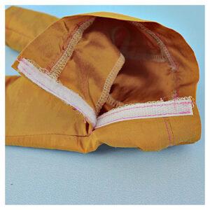Capri pants, doll clothes, sewing pattern, Frocksandfrolics, beginner, American girl, Audrey, side pockets, hook and loop tape