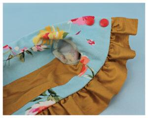 Etsy, 18 inch doll clothes, sewing pattern, video tutorial, frocks and frolics , bolero jacket, Capri pants, vents