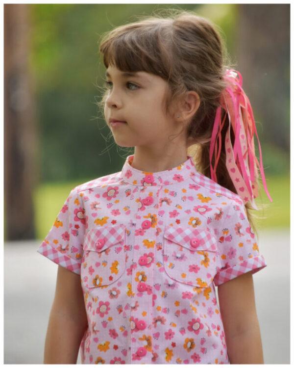 shirt, blouse, granddad collar, casual shirt sewing pattern, sew, sewing, sewing tutorial, frocks and frolics, frocks,frolics