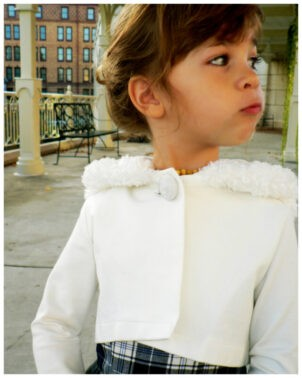 Joanna, girls cardigan, sewing pattern, frocks and frolics, sewing, learn to sew, sewing with knit fabric, sweater, hoodie