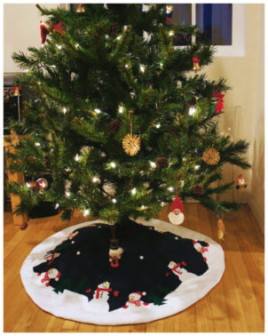 Tree Skirt PDF sewing pttern