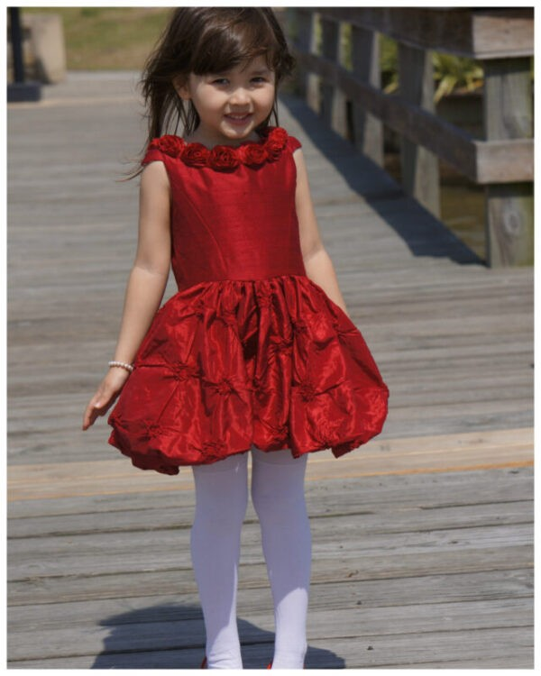 puff ball, girls dress, party dress, party frock, pdf sewing pattern