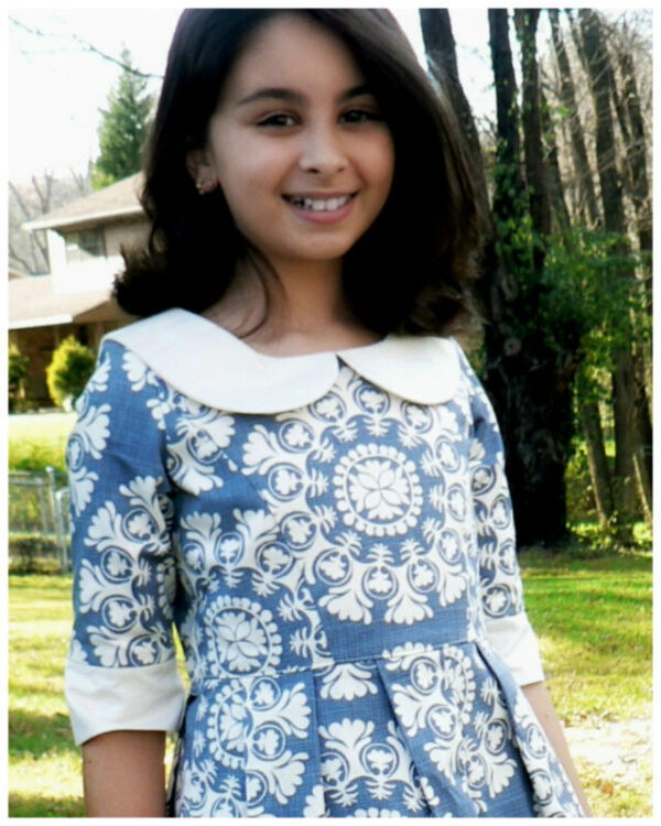 Peter Pan collar pdf sewing pattern