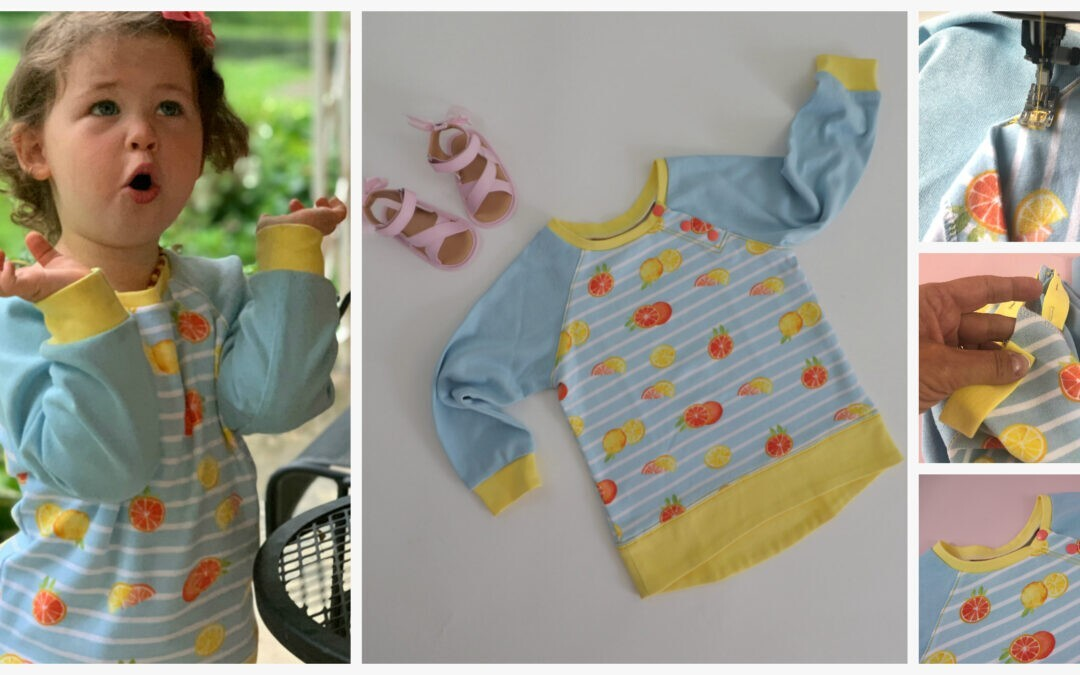 Jelly Bean Sweatshirt Sewing Course