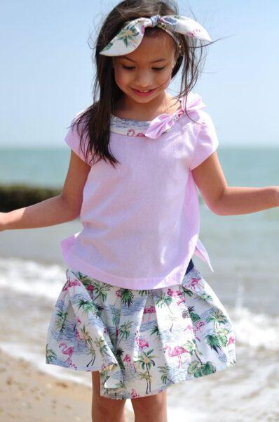Beatrice, pdf sewing pattern, girls blouse, Frocks & Frolics, sewing tutorial, learn to sew, google, frocks, frolics