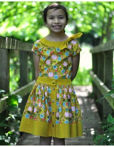 Retro skirt, pdf ,sewing pattern, easy sewing, sewing tutorial