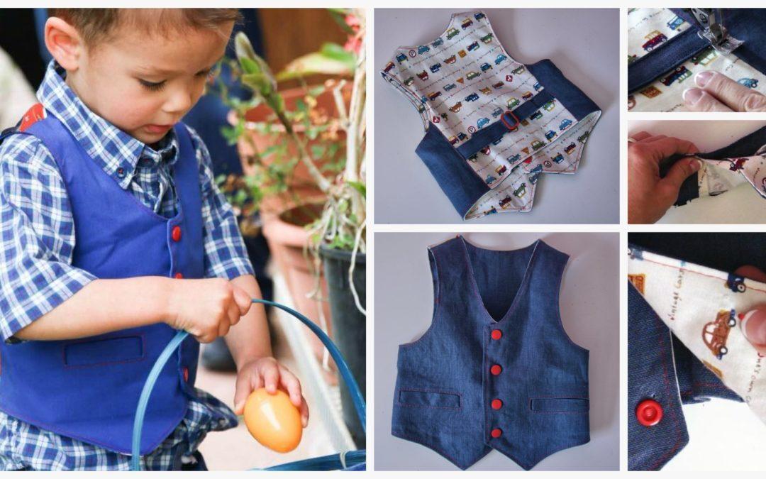 Brooklyn Waistcoat Sewing Course