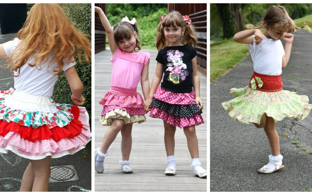 How to Draft and Sew Ruffle Skirts