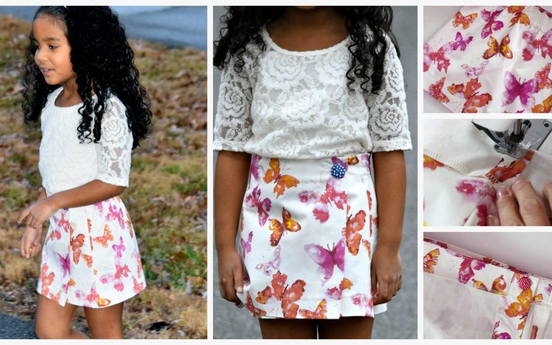 Jutta Wrap Skirt Sewing Course