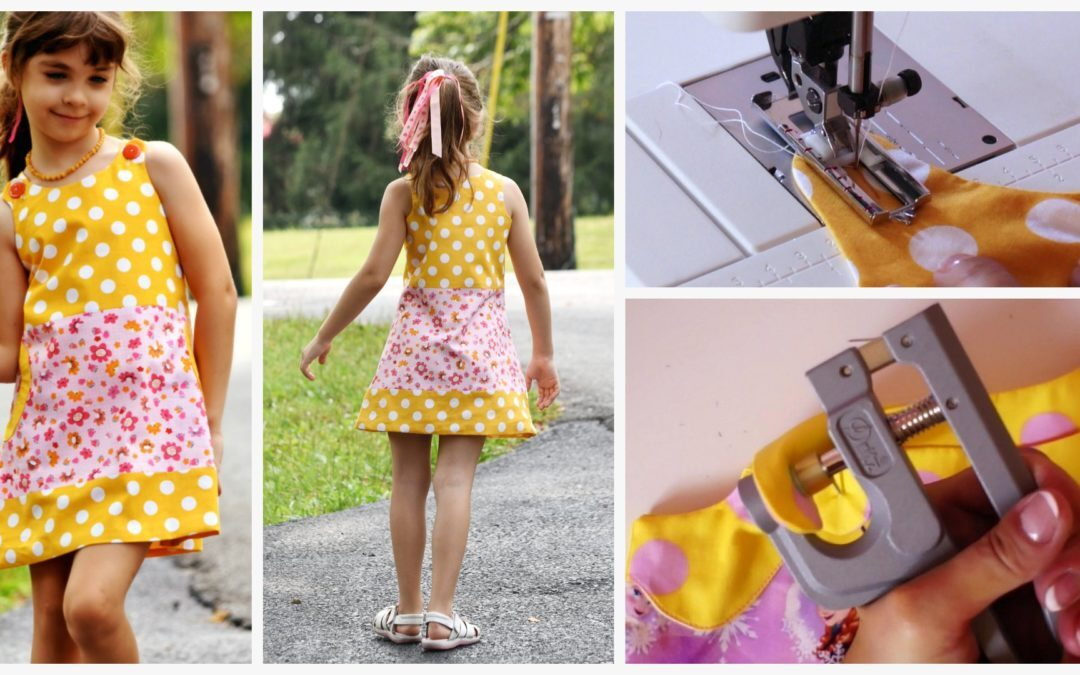 Mimi Pinafore Dress