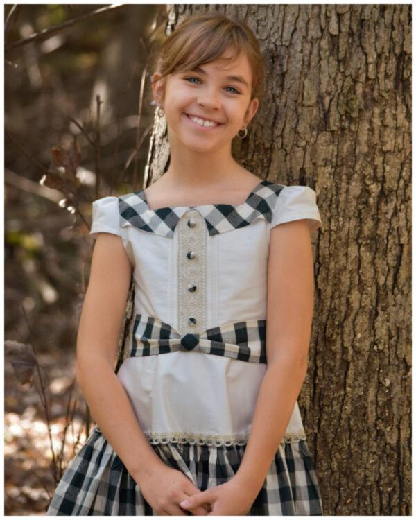 Vintage dress pattern, Isabella