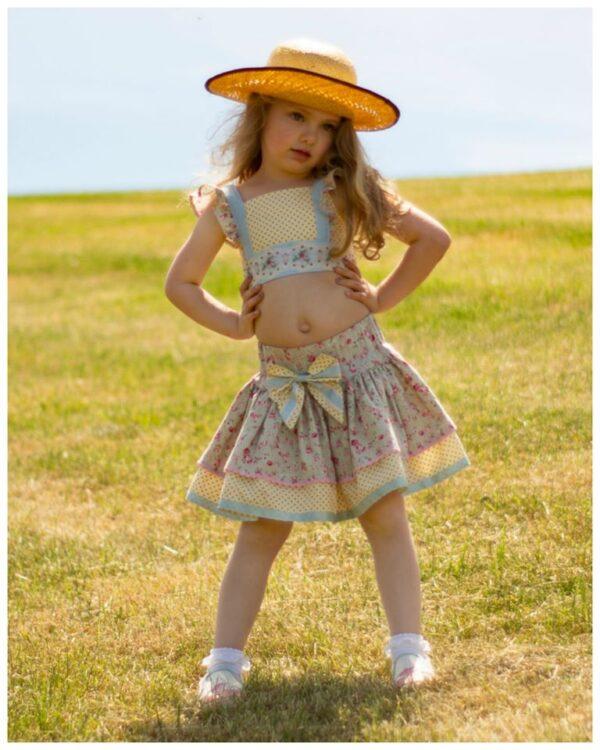 crop top for girls, pdf sewing pattern