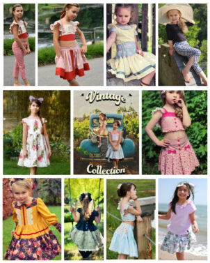 Vintage Collection Bundle, pdf sewing pattern