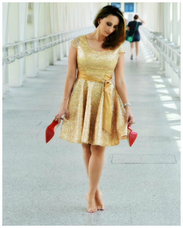 cocktail dress, sewing pattern, fitted, low cut back, pdf sewing pattern, lace