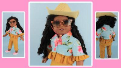Paris Bolero jacket for dolls 2